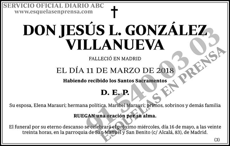 Jesús L. González Villanueva